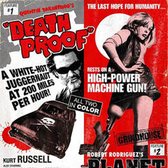 Death Proof & Planet Terror poster.