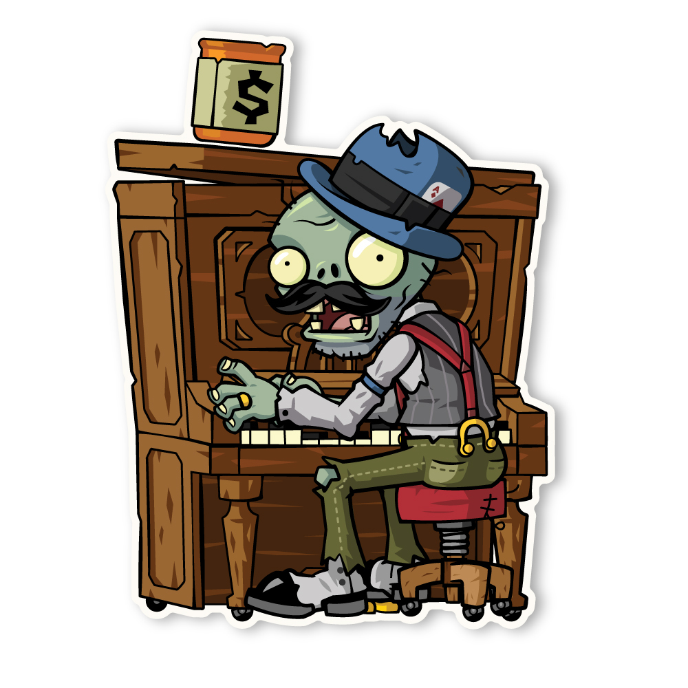 zombie pianiste wiki plantes contre zombies fandom powered by wikia. Black Bedroom Furniture Sets. Home Design Ideas