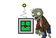 Zombie with teleporter