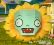 Homemade Zombie Face
