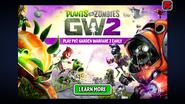 PVZ2 GW2 ad