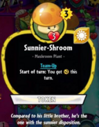 Sunnier shroom profile