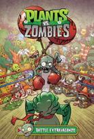 Plants vs. Zombie Graphic Novel Cover