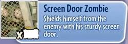 Screen Door Zombie