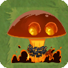 Doomsday Bomb Mushroom with Costume