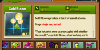 Gold Bloom/Gallery