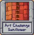 Art challenge sunflower icon incomplete