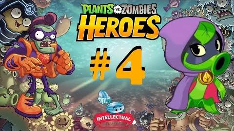 Plants vs Zombies Heroes Part 4 Super Brainz Battle at BBQ
