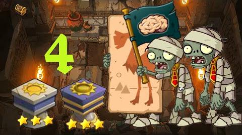 PvZ Online - Adventure Mode - Pyramid of Terror 4