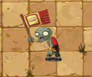 Flag monk zombie