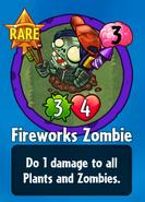 Receiving Fireworks Zombie