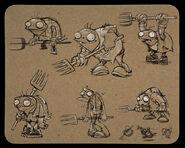 Farmer-zombies