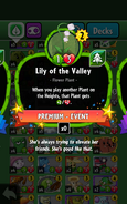 Lily of the Valley Statistics