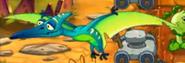 Jurassicmarshpterodayctlflying