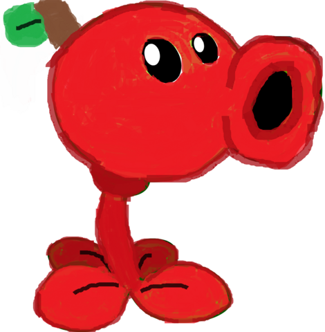 File:Apple Peashooter HD.png