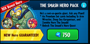The smash hero pack