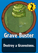 Receiving Grave Buster