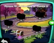A Schooling at Zombie U map