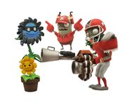 Shadow Flower All-Star Imp Punt and Heal Flower figures