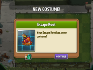 Getting Escape Root's Second Costume