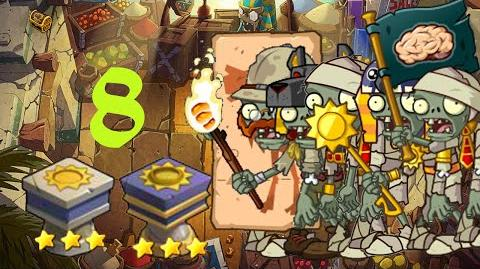 PvZ Online - Adventure Mode - Egyptian Market 8