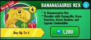 BananasaurusRexinStorePvZH