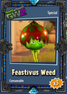 Feastivus Weed Sticker