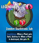Receiving Zombot Sharktronic Sub-0