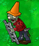 File:Conehead Ladder Zombie.png