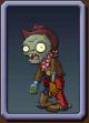 Cowboy Zombie Icon2