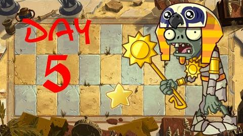 PvZ All Stars - Ancient Egypt Day 5 BOSS