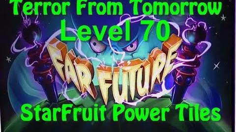 Terror From Tomorrow Level 70 StarFruit Power Tiles Plants vs Zombies 2 Endless GamePlay Walkthrough