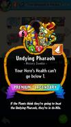 Undying Pharaoh Description