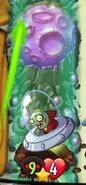 Jimmy Imp attacking