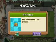 Getting Hot Potato Costume