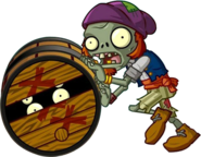 HD Barrel Roller Zombie