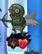 Giant Stupid Cupid Is Tinted Gray