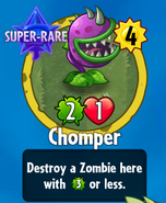 Receiving Chomper