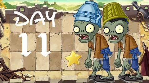 PvZ All Stars - Great Wall of China Day 11