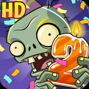 植物大战僵尸2 Android Icon (Version 1.6.2)