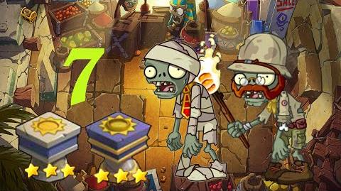 PvZ Online - Adventure Mode - Egyptian Market 7