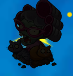 File:Cat lady silhouette.png