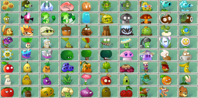 File:PVZAS in PVZ2 Seed Packets + 4 Plants.png