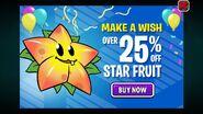 Starfruit Birthdayz Ad