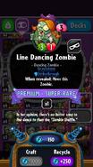 Line Dancing Zombie statistics