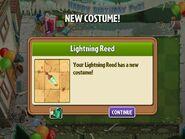 Getting Lightning Reed Birthday Costume