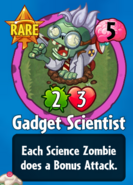 Receiving Gadget Scientist