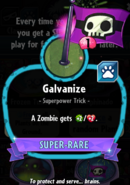 Galvanize statistics