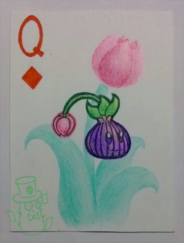 File:Plants of playing CARDS:Dianmond Q.png
