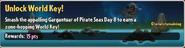 Unlock World Key! (Pirate Seas)